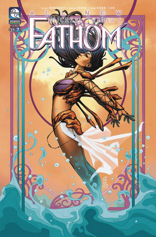 All New Fathom #7 (Cafaro Cover)