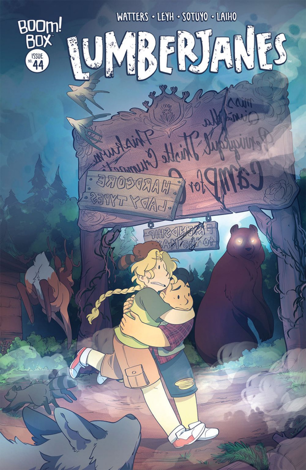 Lumberjanes #44 (Subscription Sotuyo Cover)