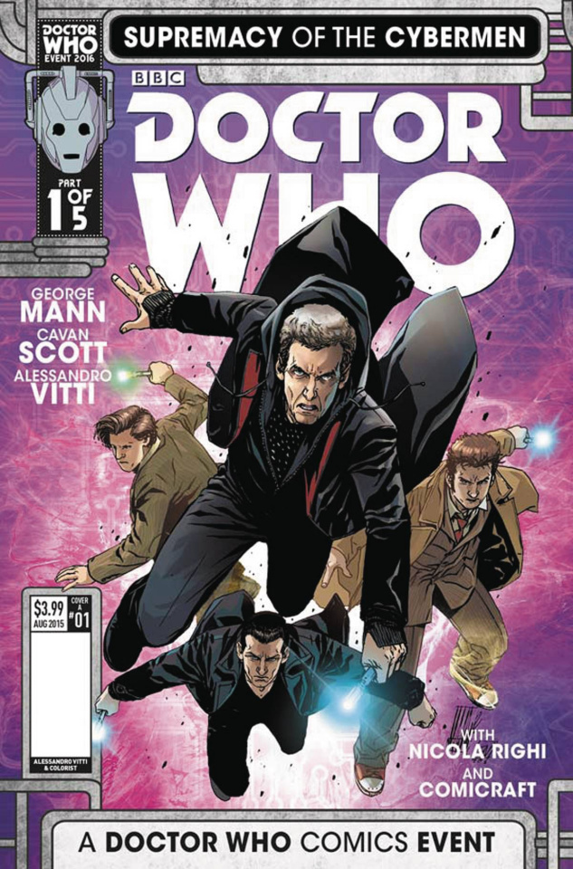 Doctor Who: Supremacy of the Cybermen #1 (Vitti Cover)