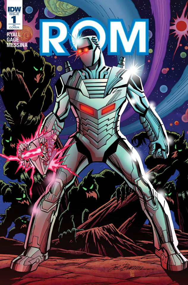 ROM #1 (25 Copy Cover)