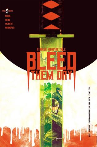 Bleed Them Dry #5 (Ruan Cover)