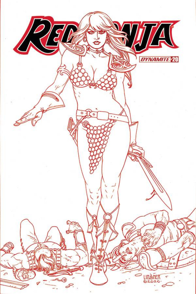 Red Sonja #20 (25 Copy Linsner Tint Cover)