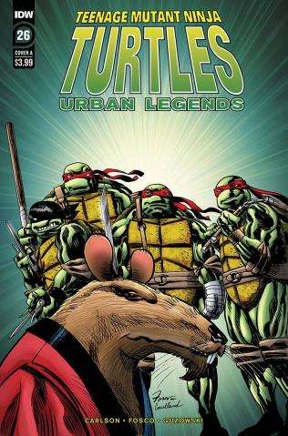 Teenage Mutant Ninja Turtles: Urban Legends #26 (Fosco Cover)