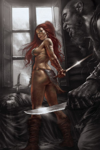 Red Sonja: Birth of the She-Devil #2 (25 Copy Parillo Virgin Cover)