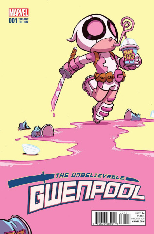Gwenpool #1 (Young Cover)