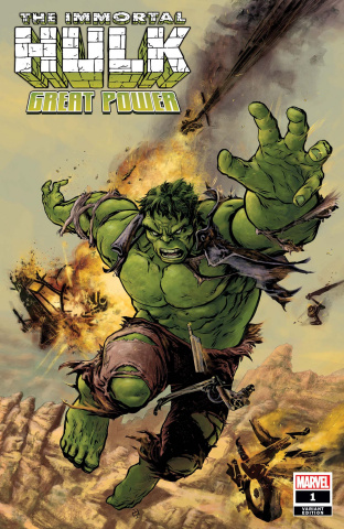 The Immortal Hulk: Great Power #1 (Fiumara Cover)
