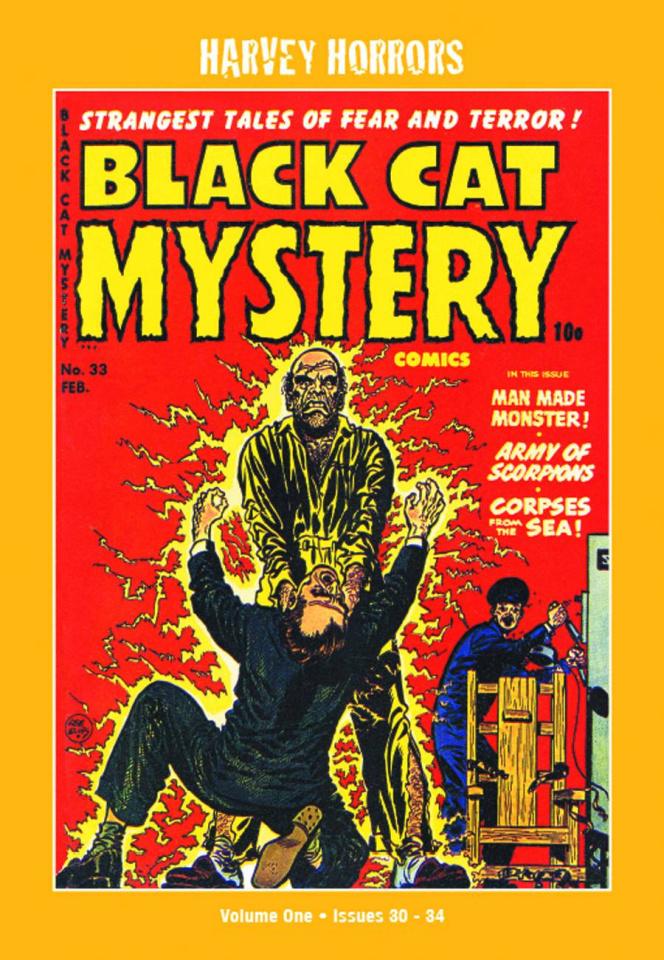 Harvey Horrors: Black Cat Mystery Vol. 1