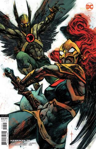 Hawkman #28 (Sebastian Fiumara Cover)