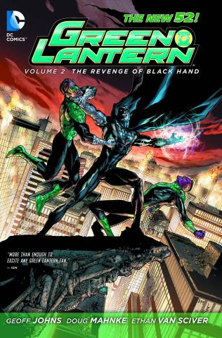 Green Lantern Vol. 2: Revenge of Black Hand