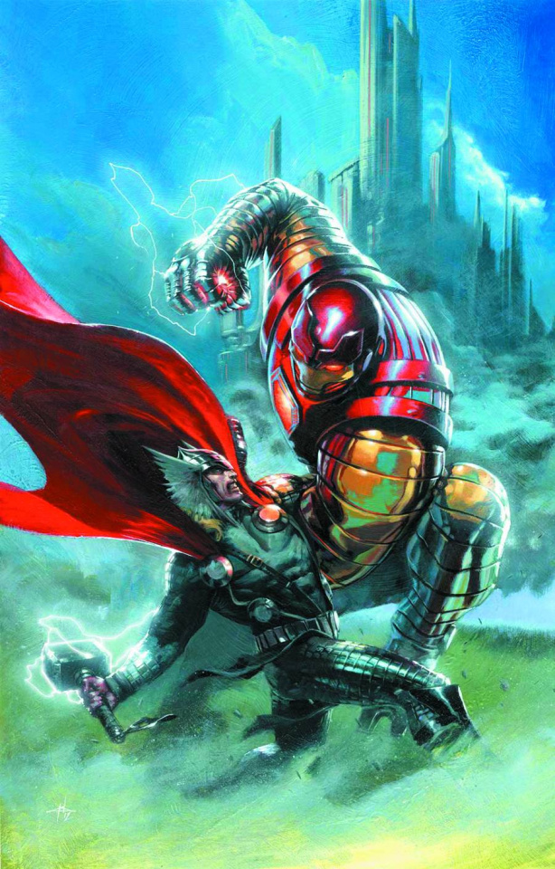 Thor: God of Thunder #7 (Many Armors Variant)