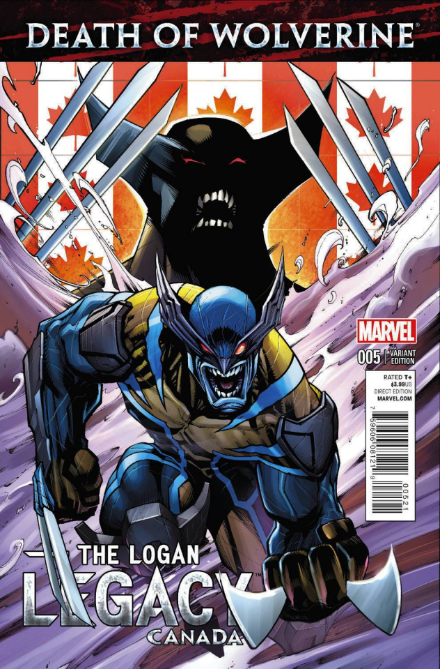 Death of Wolverine: The Logan Legacy #5 (Canada Cover)