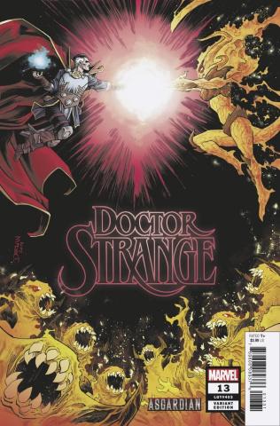 Doctor Strange #13 (Shalvey Asgardian Cover)