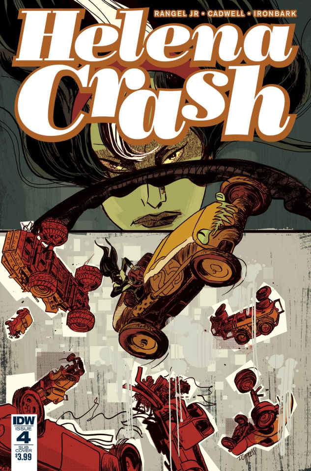 Helena Crash #4 (Subscription Cover)