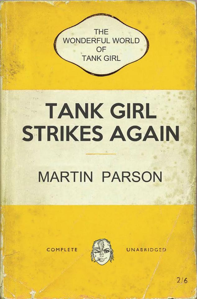 The Wonderful World of Tank Girl #1 (Bookshelf Cover)