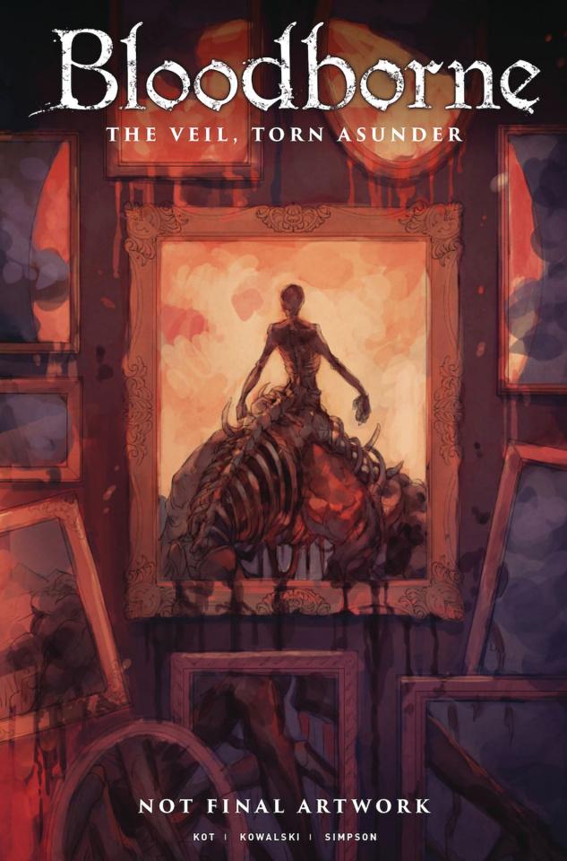 Bloodborne #15 (Yoshioka Cover)