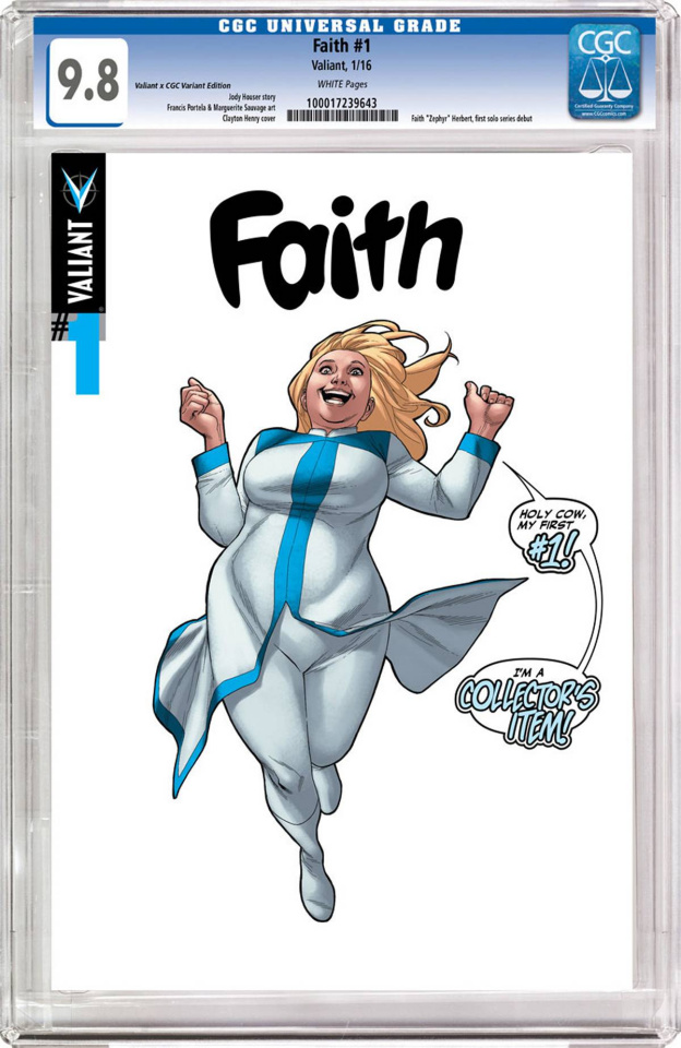 Faith #1 (CGC Replica Henry Cover)