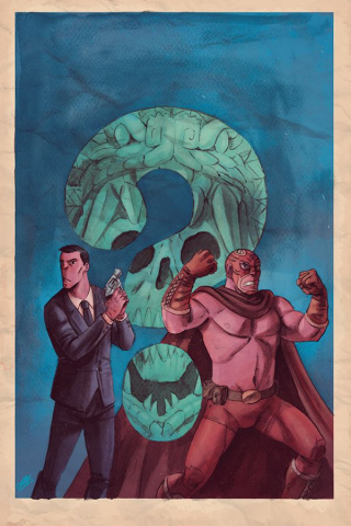 Blood Brothers #1 (10 Copy Virgin Cover)