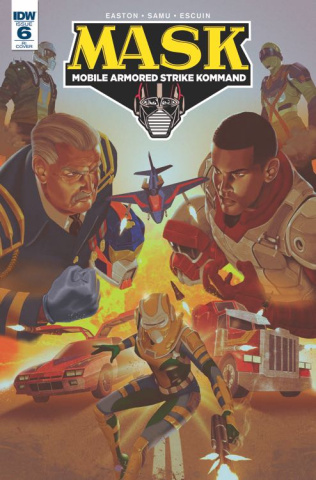 M.A.S.K.: Mobile Armored Strike Kommand #6 (10 Copy Cover)