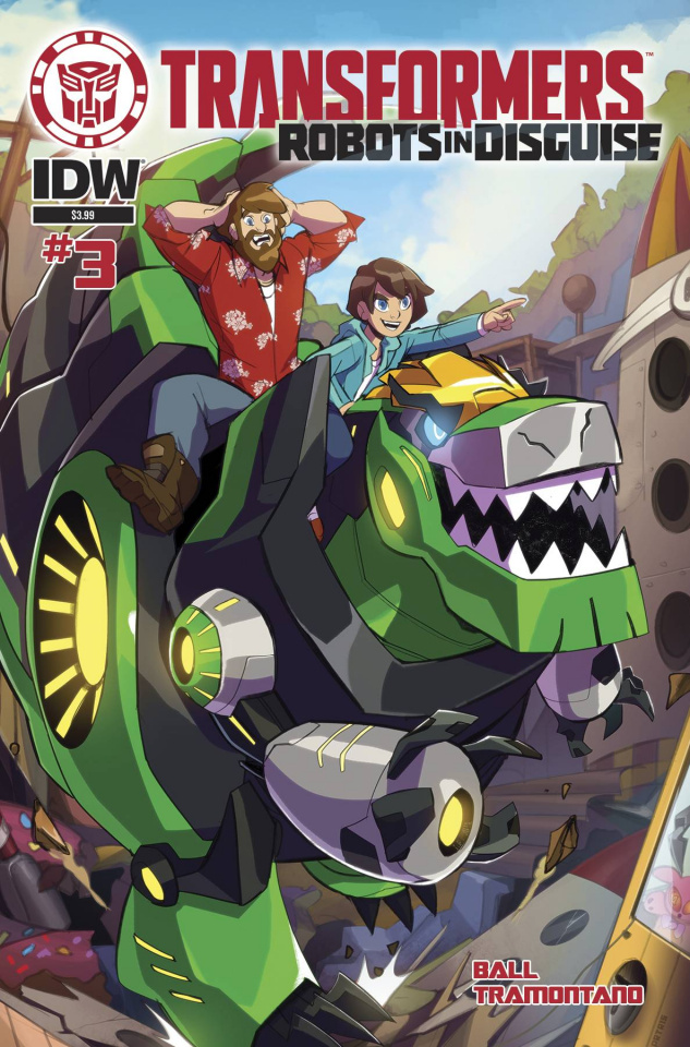 The Transformers: Robots in Disguise Animated #3