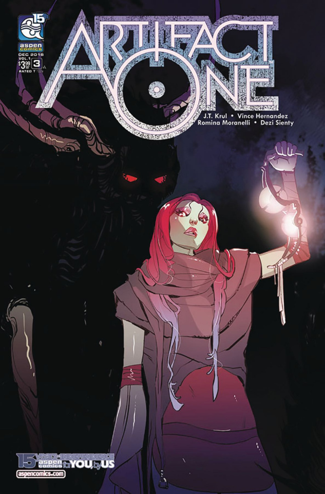 Artifact One #3 (Moranelli Cover)