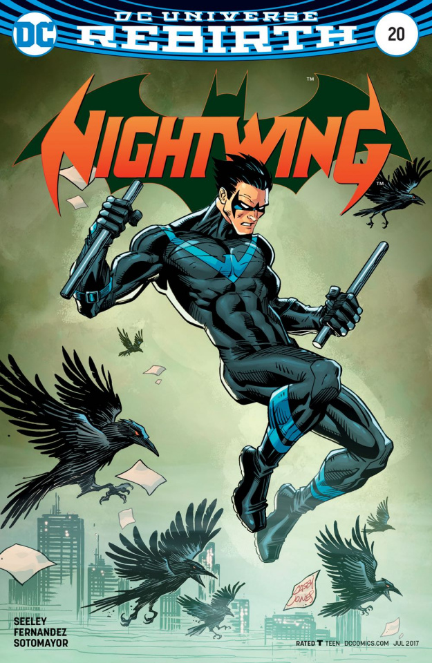 Nightwing #20 (Variant Cover)