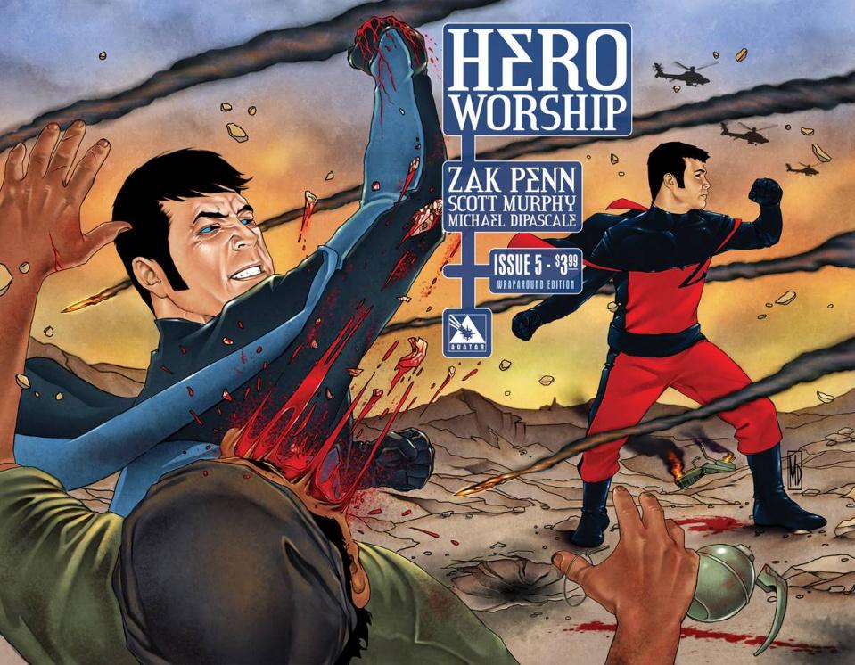 Hero Worship #5 (Wrap Cover)