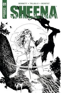 Sheena #1 (20 Copy Sook Cover)