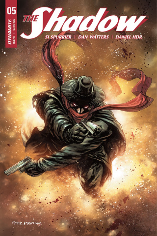 The Shadow #5 (Kirkham Cover)