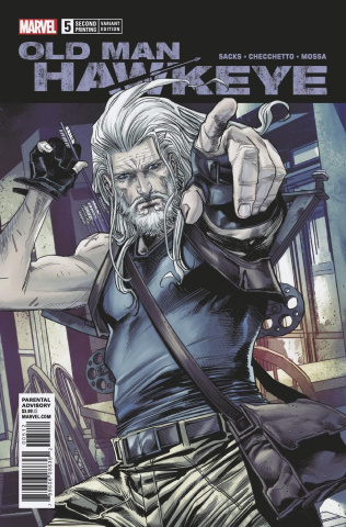 Old Man Hawkeye #5 (Checchetto 2nd Printing)