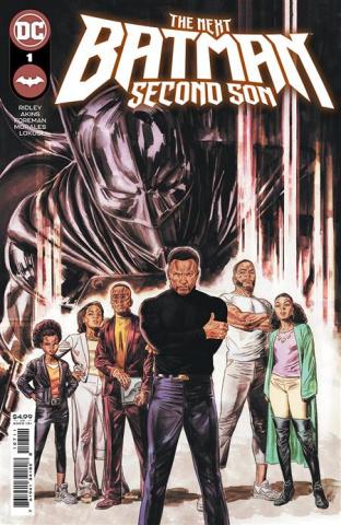 The Next Batman: Second Son #1 (Doug Braithwaite Cover)