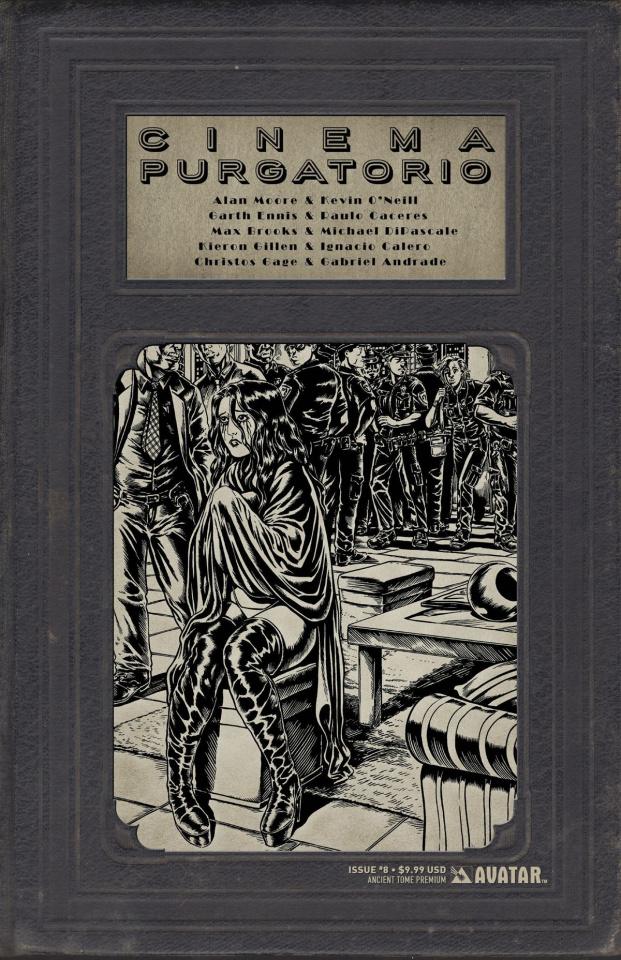 Cinema Purgatorio #8 (Ancient Tome Premium Cover)