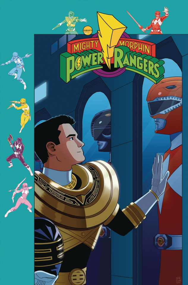 Mighty Morphin' Power Rangers #28 (Subscription Gibson Cover)
