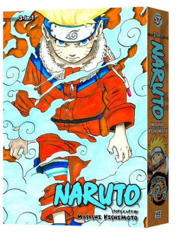 Naruto Vol. 1 (3-in-1 Edition)