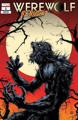 Werewolf by Night #1 (Okazaki Cover)