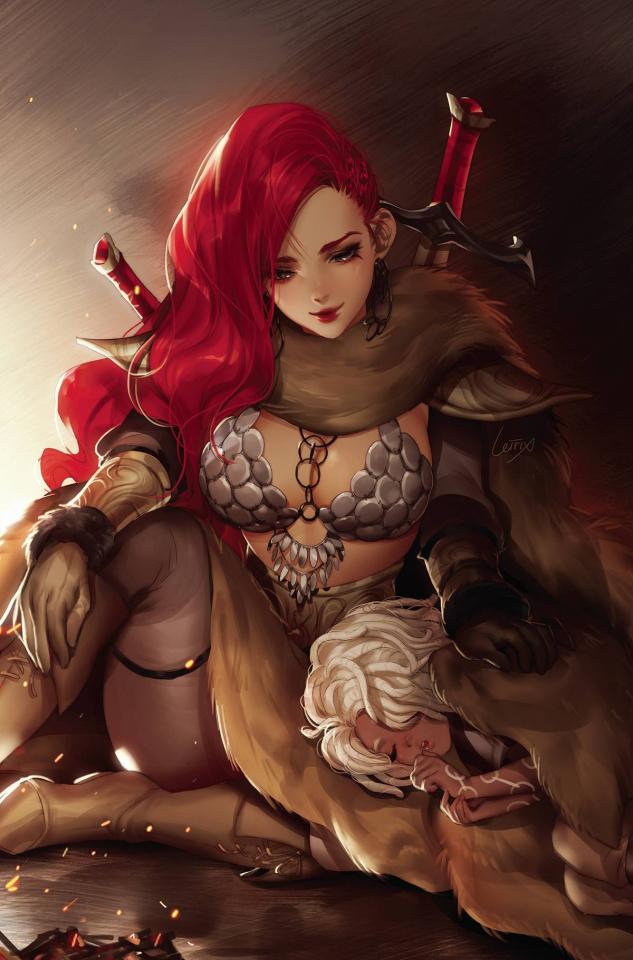 Red Sonja #2 (7 Copy Li Virgin Cover)