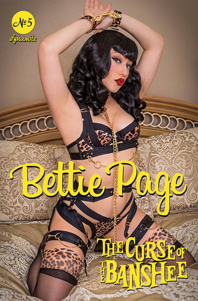 Bettie Page and The Curse of the Banshee #5 (Cosplay Cover)