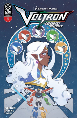Voltron: Legendary Defender #1 (Pena Cover)