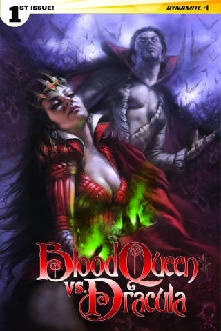 Blood Queen vs. Dracula #1 (Subscription Cover)