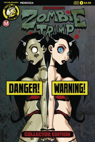 Zombie Tramp: Origins #1 (Mendoza Risque Cover)