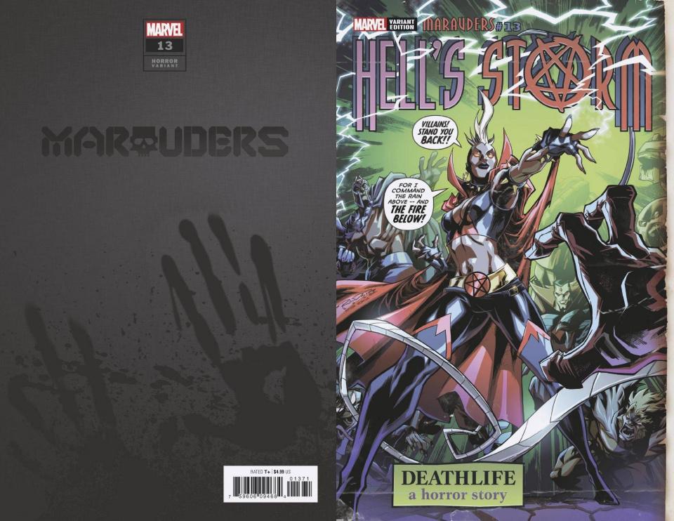Marauders #13 (Randolph Hells Storm Horror Cover)