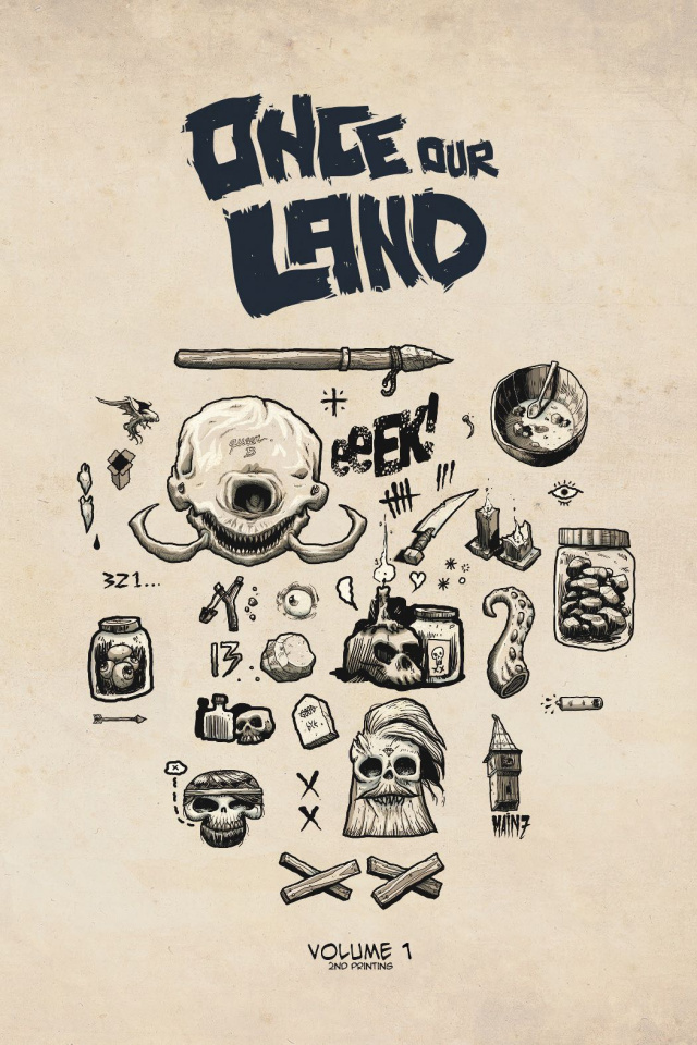 Once Our Land #1 (2nd Printing)