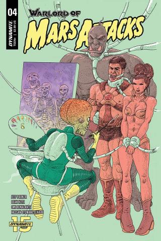 Warlord of Mars Attacks #4 (Villalobos Cover)
