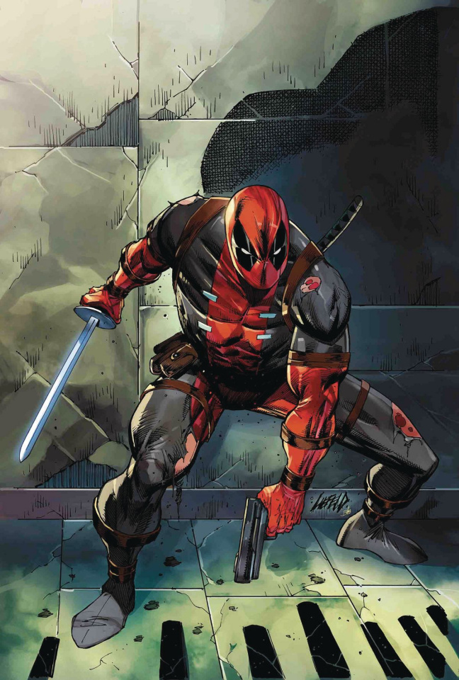 Deadpool #1 (Liefeld Cover)