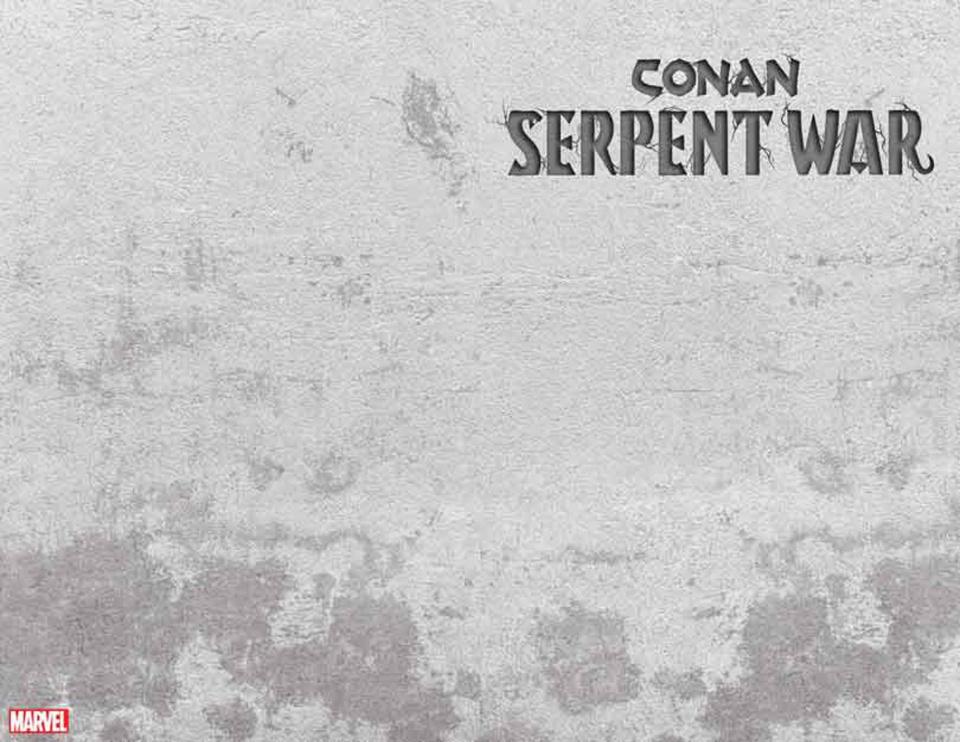 Conan: Serpent War #1 (Stone Cover)
