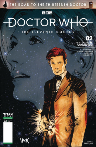 Doctor Who: The Road to the Thirteenth Doctor #2 (Hack 11th Cover)