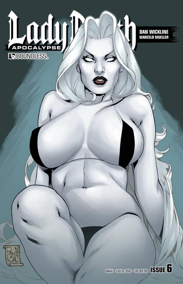 Lady Death: Apocalypse #6 (Bikini Cover)