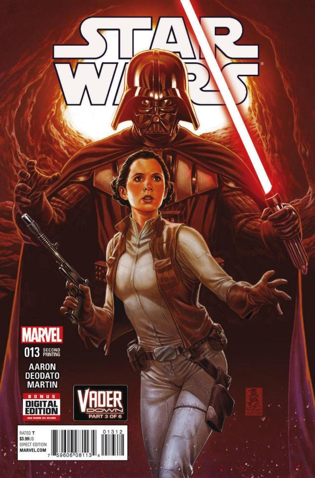 Star Wars #13 (Brooks 2nd Printing)
