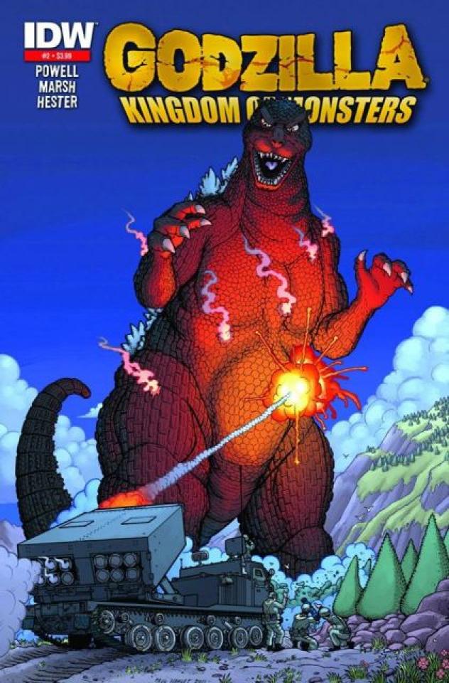 Godzilla: Kingdom of Monsters #2 (2nd Printing)