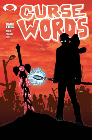 Curse Words #9 (Walking Dead #6 Tribute Cover)