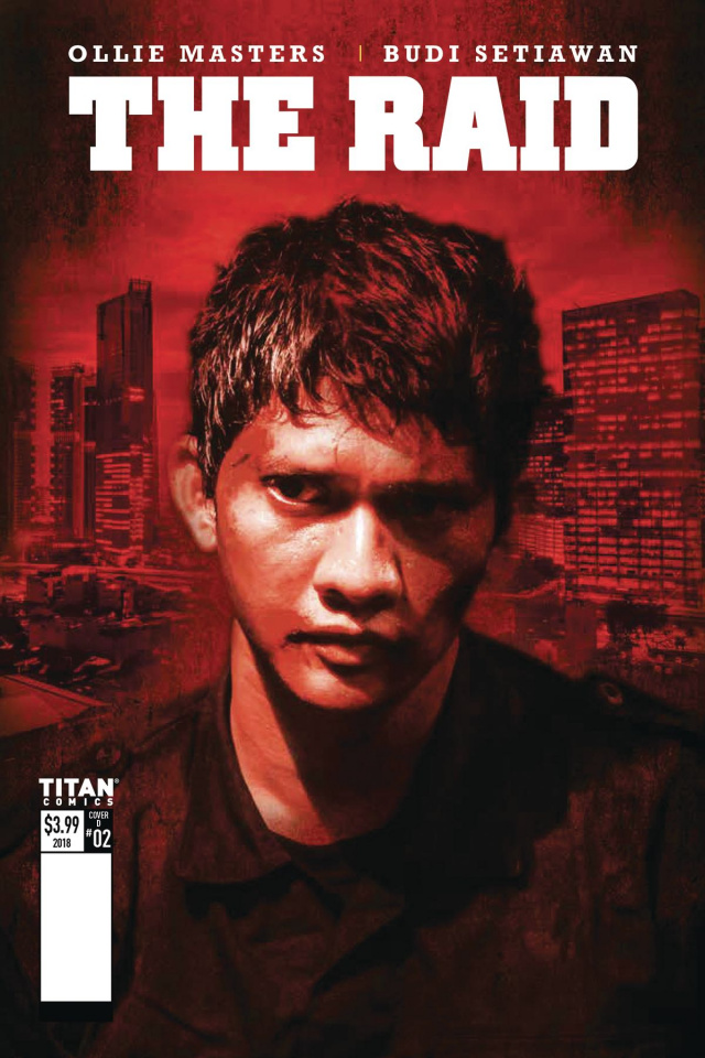 The Raid #2 (Photo Cover)